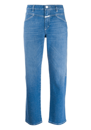 Closed faded straight-leg jeans - Blue