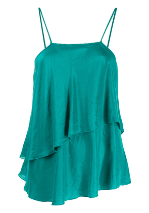 Forte Forte tiered cami top - Green