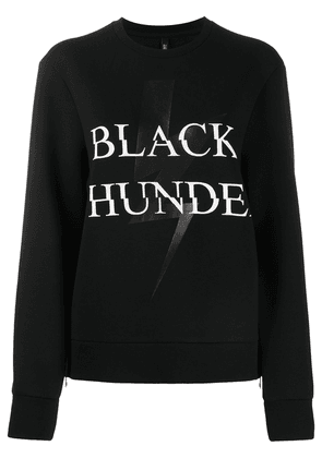 Neil Barrett Black Thunder print sweatshirt