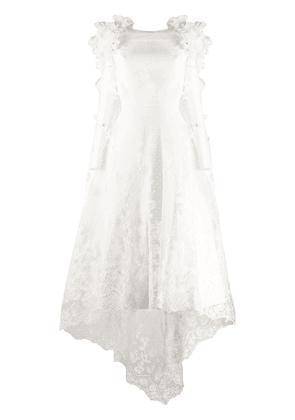 Loulou mid-length bridal dress - White
