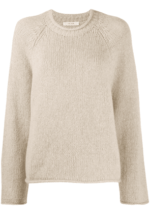 The Row cashmere long sleeve jumper - NEUTRALS