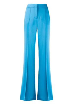 Dorothee Schumacher flared suit trousers - Blue