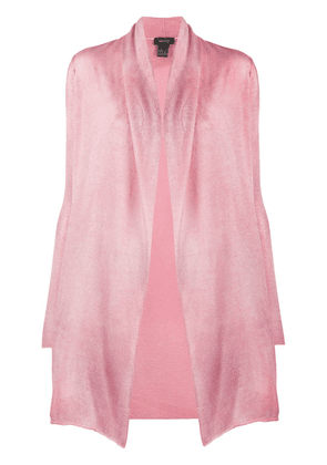 Avant Toi open front cardigan - PINK