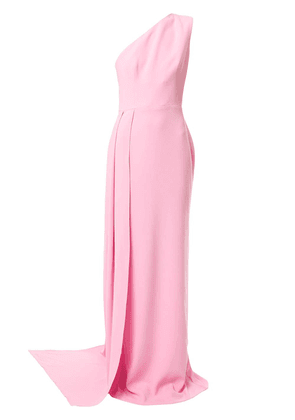 Alex Perry Gray asymmetrical gown - PINK