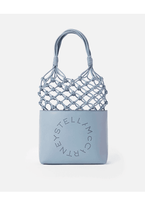 Stella McCartney Blue Logo Knotted Bag, Women's, Size OneSize
