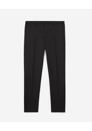 The Kooples - Black suit trousers with satin strip - MEN