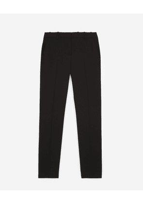 The Kooples - Black crepe suit trousers - WOMEN