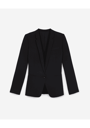 The Kooples - Crepe black suit jacket - WOMEN