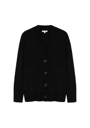 Equipment Black Cashmere Cardigan