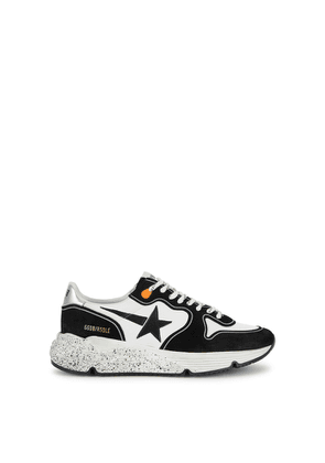 Golden Goose Deluxe Brand Running Sole Distressed Suede Sneakers