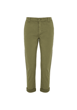 Current/Elliott The Confidant Army Green Trousers