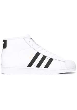 adidas 'Pro Model' hi-top sneakers - White