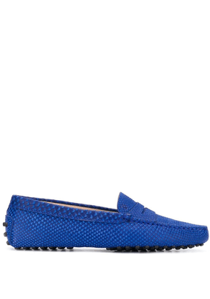Tod's Gommini loafers - Blue