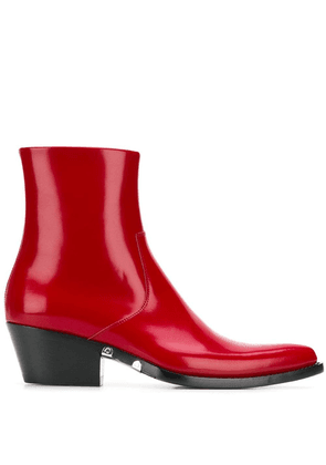 Calvin Klein 205W39nyc Tiesa 3 boots - Red