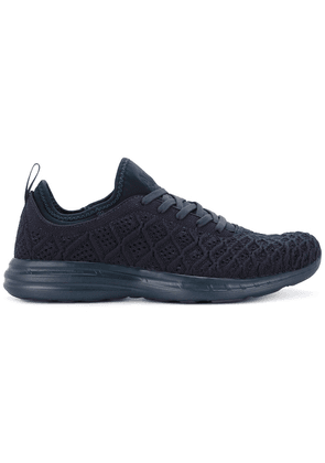 APL: ATHLETIC PROPULSION LABS textured lace-up sneakers - Blue
