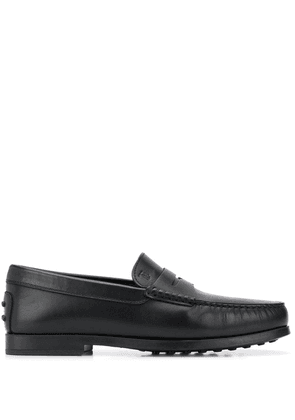 Tod's penny bar loafers - Black