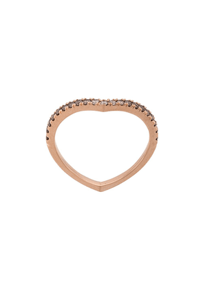 Eva Fehren 14kt rose gold Private diamond ring