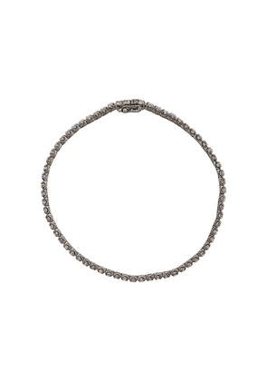 Eva Fehren 18k blackened white gold & diamond bracelet - SILVER