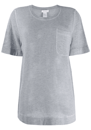 Eres patch pocket cashmere sweater - Grey