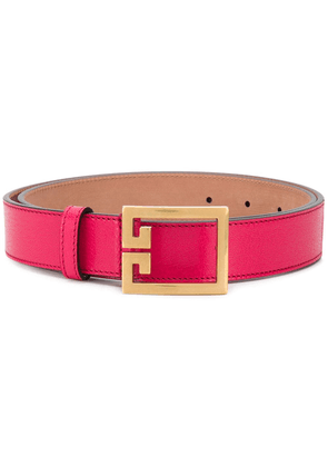 Givenchy Double G buckle belt - PINK