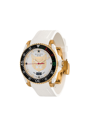 Gucci Dive stainless steel watch - White