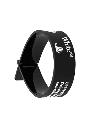 Off-White New Logo bracelet - Black