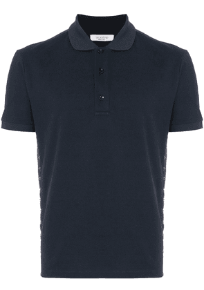 Valentino Rockstud Untitled polo shirt - Blue