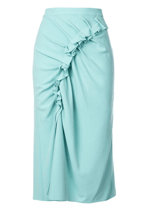Sies Marjan ruched skirt - Green