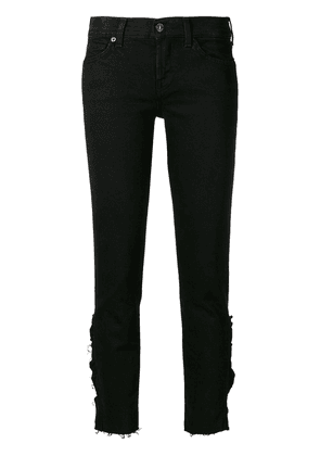 7 For All Mankind distressed effect jeans - Black