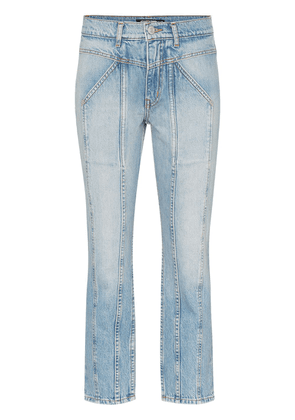 Adaptation Rider cropped skinny jeans - Blue