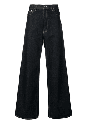 Facetasm flared wide leg jeans - Blue