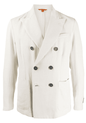 Barena fitted double-breasted blazer - NEUTRALS