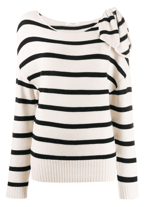 Derek Lam 10 Crosby Tessa Tie Shoulder Sweater - Black