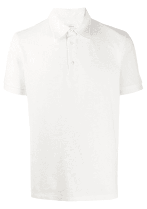 Ballantyne short-sleeved regular-fit polo shirt - White