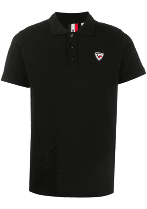 Rossignol logo-patch short sleeved polo shirt - 200