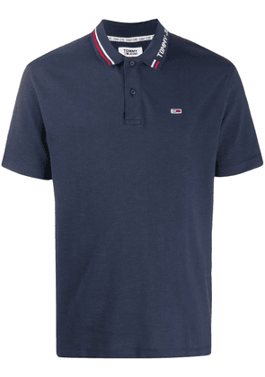 Tommy Hilfiger short-sleeved polo shirt - Blue