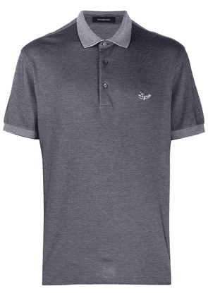 Ermenegildo Zegna short-sleeve polo shirt - Grey