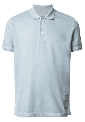 Zadig & Voltaire Trot logo patch polo shirt - Blue