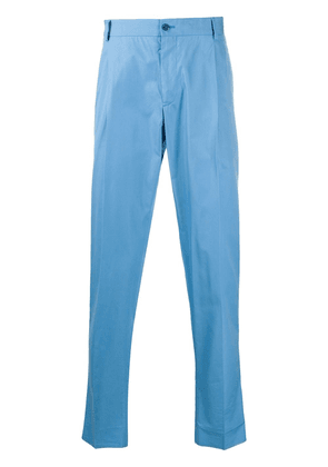 Dolce & Gabbana tailored chino trousers - Blue
