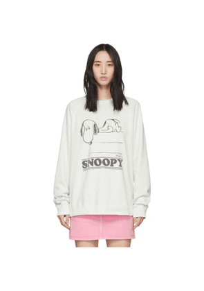Marc Jacobs Off-White Peanuts Edition Snoopy Sweatshirt
