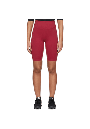 Ernest Leoty Red Adelaide Biker Shorts