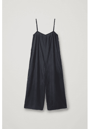 WIDE MULBERRY SILK JUMPSUIT