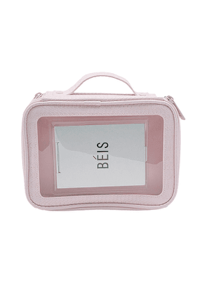 BEIS The On-The-Go Essentials Case in Pink.