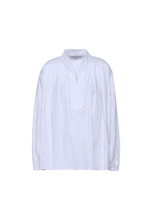 Elizabeth And James Oversized Cotton-blend Top Woman White Size XS
