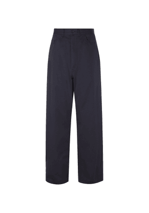 Balenciaga - Cotton-Twill Trousers - Men - Blue