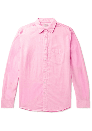 Faherty - Cloud End-on-end Cotton-blend Shirt - Pink
