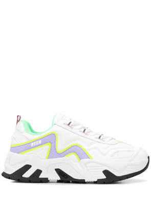MSGM Vortex low-top sneakers - White