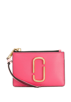 Marc Jacobs The Snapshot top-zip multi-wallet - PINK