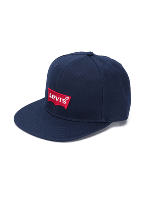 Levi's Kids embroidered logo baseball cap - Blue