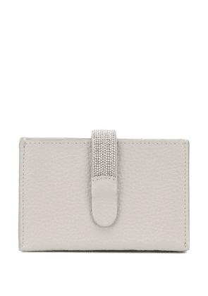 Fabiana Filippi accordion-side card holder - Grey